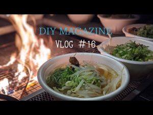 【Vlog】年越しキャンプに大阪出張/バタバタの年明け