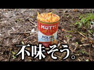 缶のゴミで作るキャンプ飯が美味すぎた…!!!